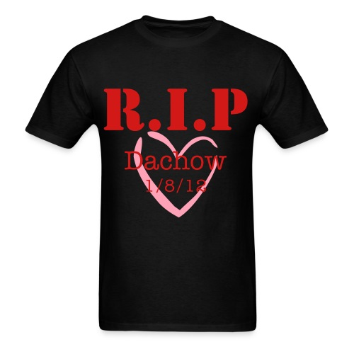 R.I.P Dachow Heart Tee - Men's T-Shirt