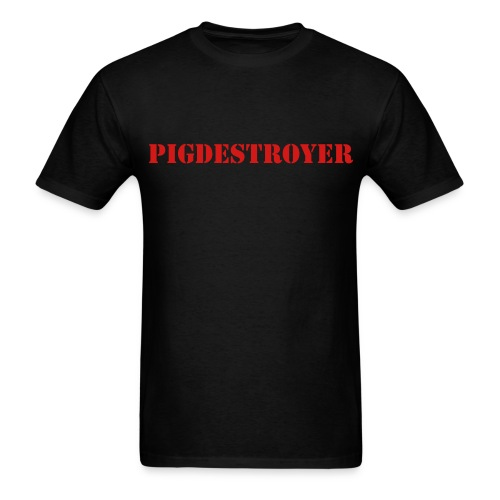 Pigdestroyer Simple Shirt - Men's T-Shirt