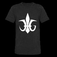 T-Shirts ~ Unisex Tri-Blend T-Shirt ~ Fleur de JG - Vintage Mens