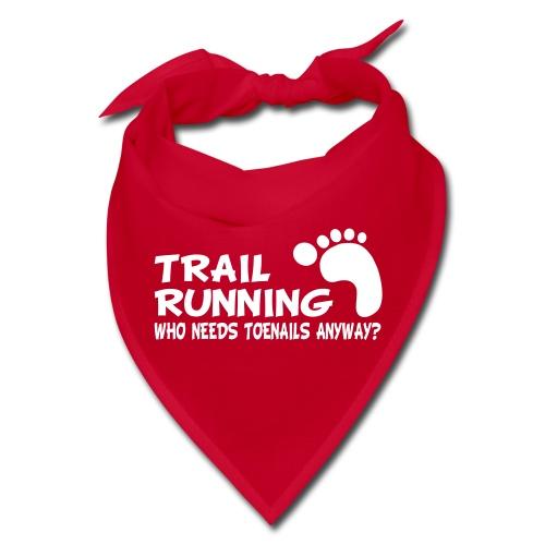 Trail Running Toenails Bandana - Bandana