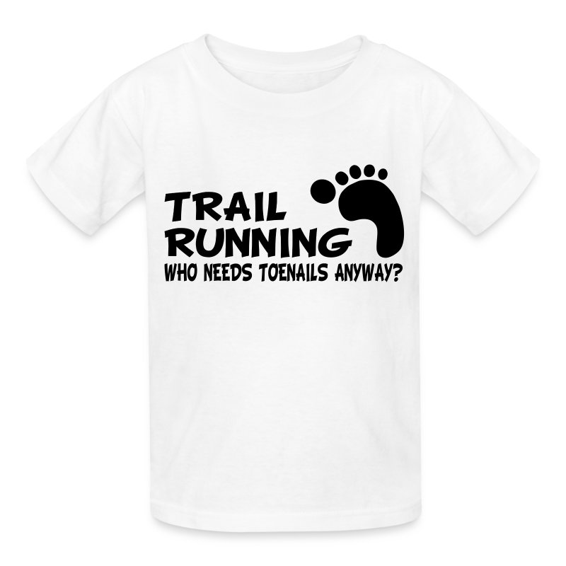 Trail Running Toenails Children's T-Shirt - Kids' T-Shirt