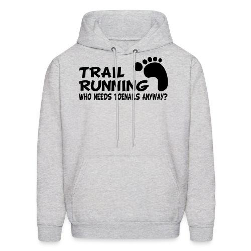 Trail Running Toenails Men's Hoodie - Men's Hoodie