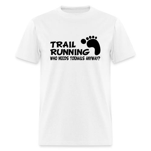 Trail Running Toenails Men's Standard T-Shirt - Men's T-Shirt