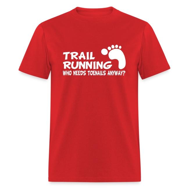 Trail Running Toenails Men's Standard T-Shirt