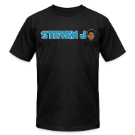 T-Shirts ~ Men's T-Shirt by American Apparel ~ Steven Jo logo