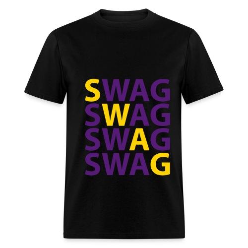 Criss Cross Swag - Men's T-Shirt
