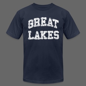 Old Great Lakes - Men's T-Shirt by American Apparel