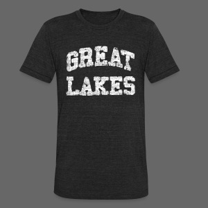 Old Great Lakes - Unisex Tri-Blend T-Shirt by American Apparel