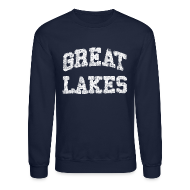 Long Sleeve Shirts ~ Crewneck Sweatshirt ~ Old Great Lakes