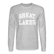 Long Sleeve Shirts ~ Men's Long Sleeve T-Shirt ~ Old Great Lakes