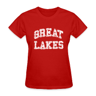 Women's T-Shirts ~ Women's T-Shirt ~ Old Great Lakes