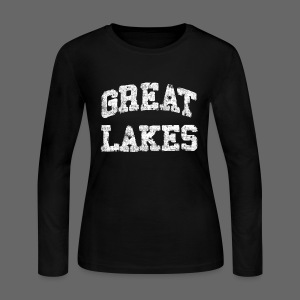 Old Great Lakes - Women's Long Sleeve Jersey T-Shirt