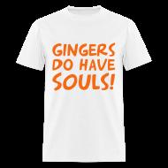 T-Shirts ~ Men's T-Shirt ~ gingers have souls