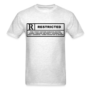 restricted - Men's T-Shirt
