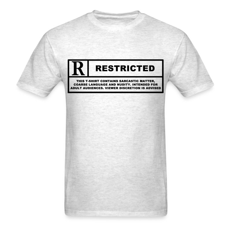 restricted - Men's T-Shirt