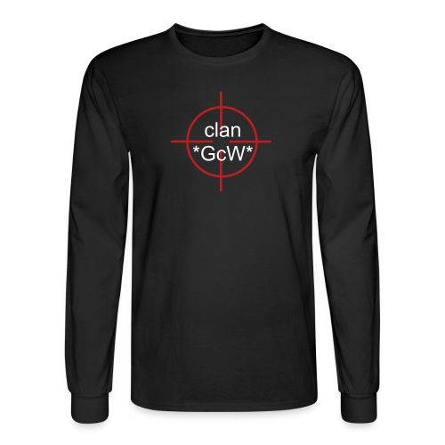 *GcW* Men's Long Sleeve Blk - Men's Long Sleeve T-Shirt