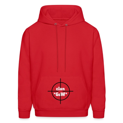 *GcW* Red Hooded Sweatshirt - Men's Hoodie