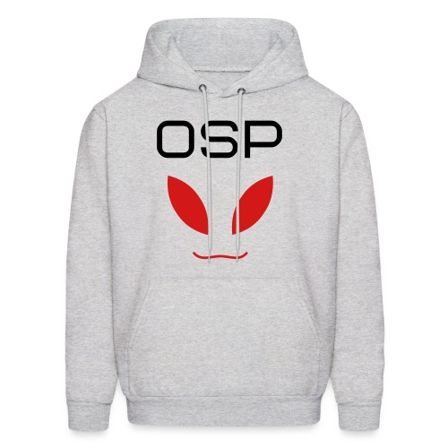 OSP Alien Face White - Men's Hoodie
