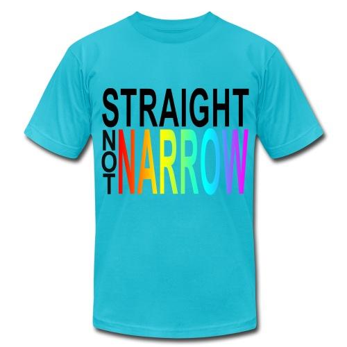 Straight Not Narrow - Men's Fine Jersey T-Shirt