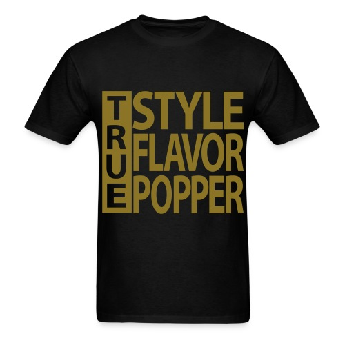 TRUE Bboy shirt METALLIC GOLD - Men's T-Shirt