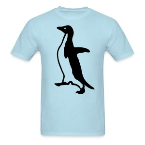 Socially Awkward Penguin Shirt - Men's T-Shirt
