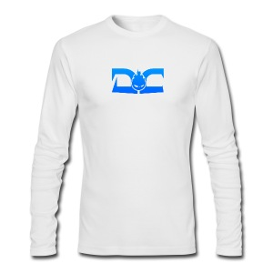 MENS LONG SLEEVE: DotaCinema logo white - Men's Long Sleeve T-Shirt by Next Level