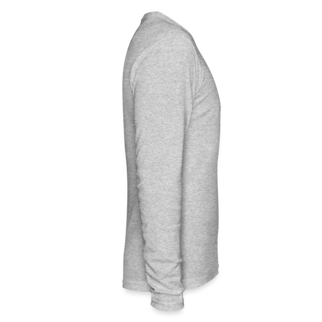 MENS LONG SLEEVE: DotaCinema logo white