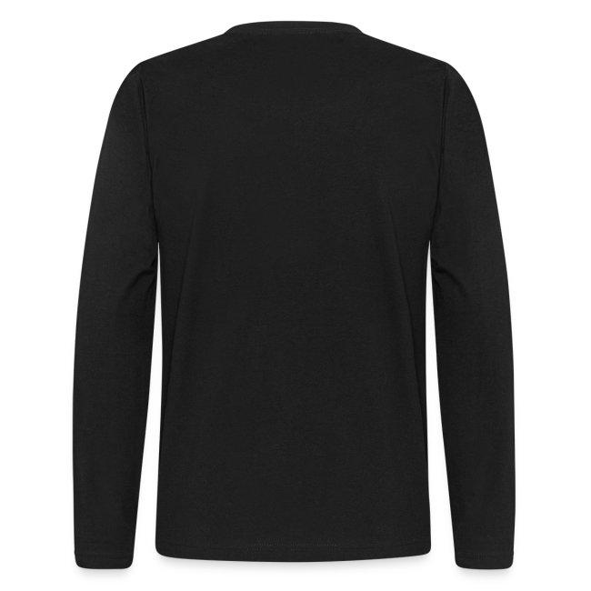 MENS LONG SLEEVE: DotaCinema logo black