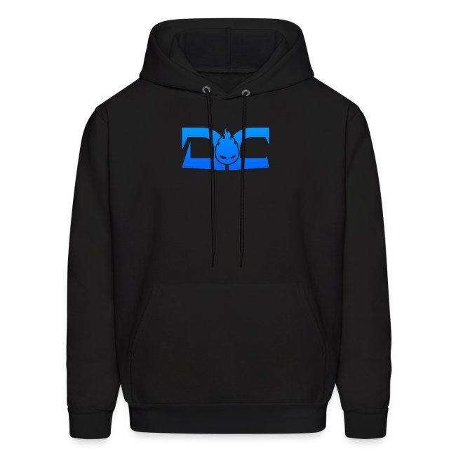 MEN'S HOODIE: DotaCinema logo black