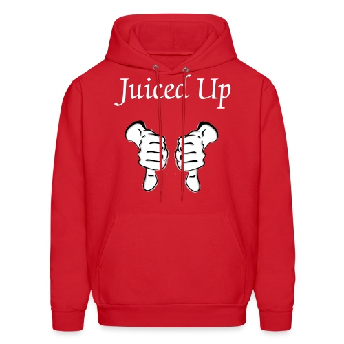 Juiced Up Thumbs Down - Men's Hoodie