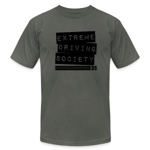 EDS Label T (Asphalt) - Men's Fine Jersey T-Shirt