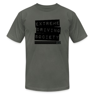 EDS Label T (Asphalt) - Men's T-Shirt by American Apparel