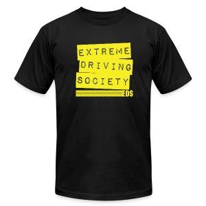 EDS Label T (Black) - Men's Fine Jersey T-Shirt
