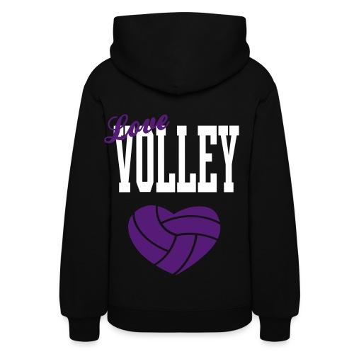 Love Volley - Women's Hoodie