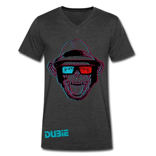 Dubie - Men's V-Neck T-Shirt by Canvas