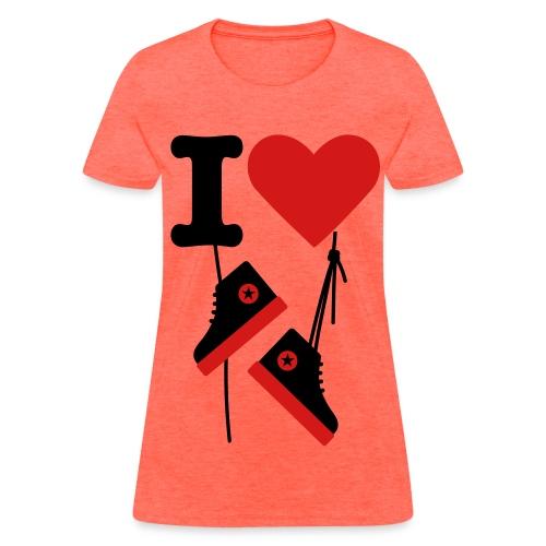 I Love Chucks! - Women's T-Shirt