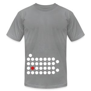 PIttsburgh Dot Shirt - Men's Fine Jersey T-Shirt