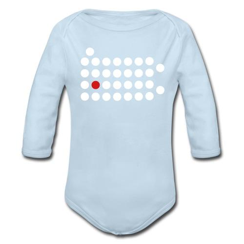 PIttsburgh Dot Shirt - Baby - Organic Long Sleeve Baby Bodysuit