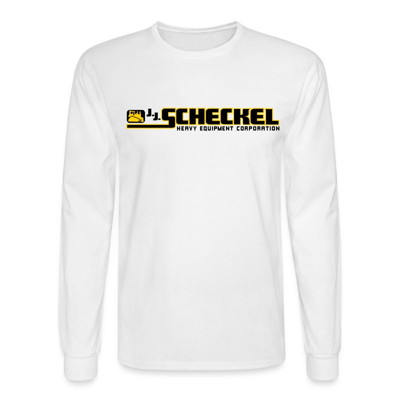 J.J. Scheckel Logo Men's Long Sleeve Tshirt - Men's Long Sleeve T-Shirt