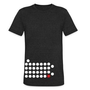 Philadelphia Dot Shirt - Unisex Tri-Blend T-Shirt
