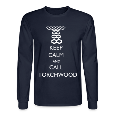 Doctor Who - Keep Calm and Call Torchwood Long Sle