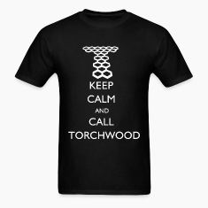 Doctor Who - Keep Calm and Call Torchwood T-Shirts