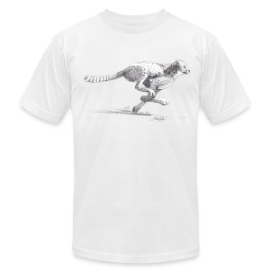 Cheetah - Men's T-Shirt by American Apparel