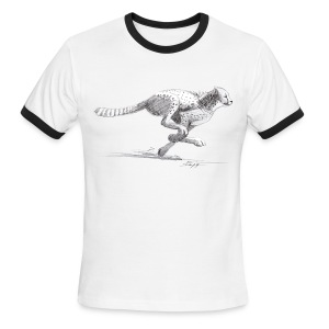 Cheetah - Men's Ringer T-Shirt