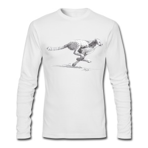 Cheetah - Men's Long Sleeve T-Shirt by Next Level