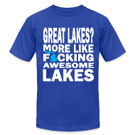 T-Shirts ~ Men's T-Shirt by American Apparel ~ Great Lakes?