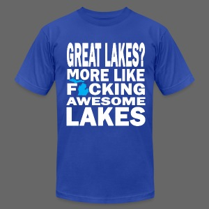 Great Lakes? - Men's T-Shirt by American Apparel