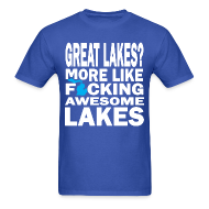 T-Shirts ~ Men's T-Shirt ~ Great Lakes?
