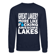 Long Sleeve Shirts ~ Crewneck Sweatshirt ~ Great Lakes?