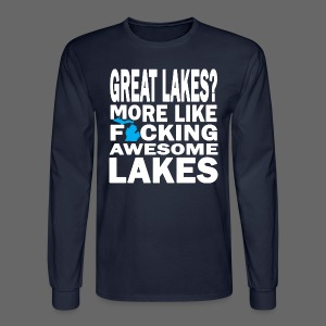 Great Lakes? - Men's Long Sleeve T-Shirt